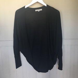 Black Loft Shrug Style Sweater
